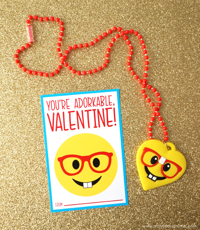 Download and print these Free Printable Emoji Valentines to share with friends or classmates this Valentine's Day!