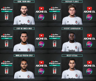 PES 2021 Facepack Besiktas by PES Football Turkey