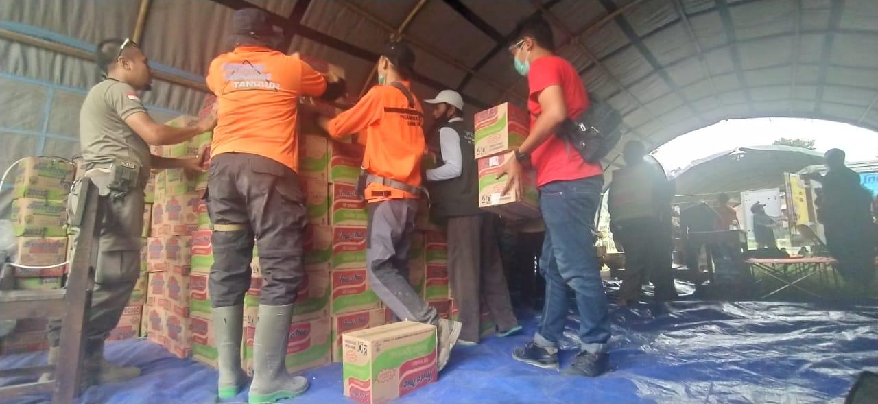 Bantuan Terus Mengalir untuk Warga Terdampak Bencana Gunung Semeru