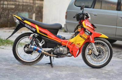 Modifikasi Motor Jupiter Z Simple