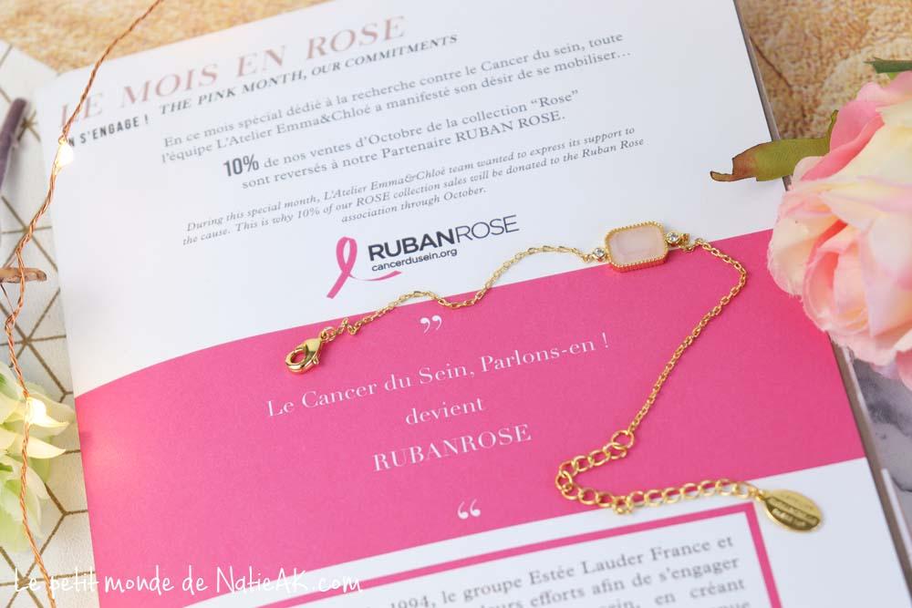 Association Ruban rose et L'atelier Emma & Chlo&