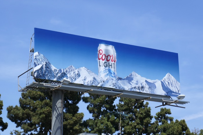 Coors Light Rookies May 2019 billboard