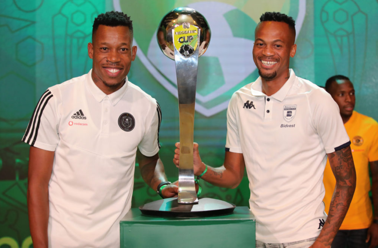 Happy Jele and Brighton Mhlongo
