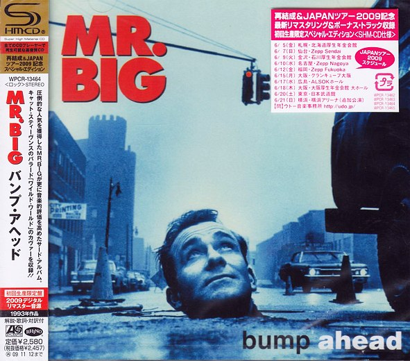 Mr. BIG - Bump Ahead [Japanese Remastered SHM-CD LTD Release +3] Out Of Print full