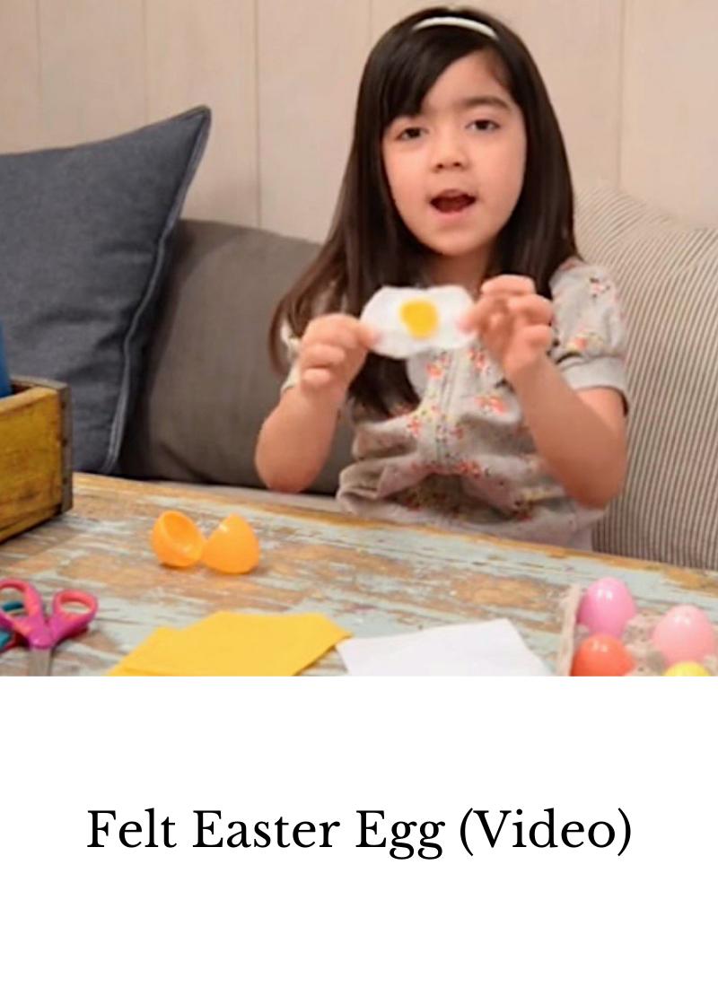 DIY felt Easter egg, Diy Easter craft, Easter craft for kids