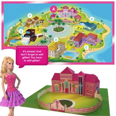 Barbie House Bastelbogen