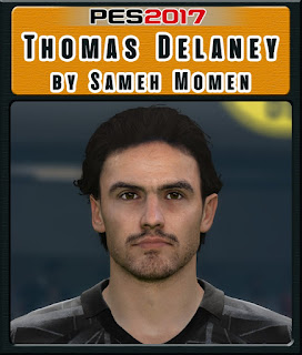 PES 2017 Faces Thomas Delaney by Sameh Momen