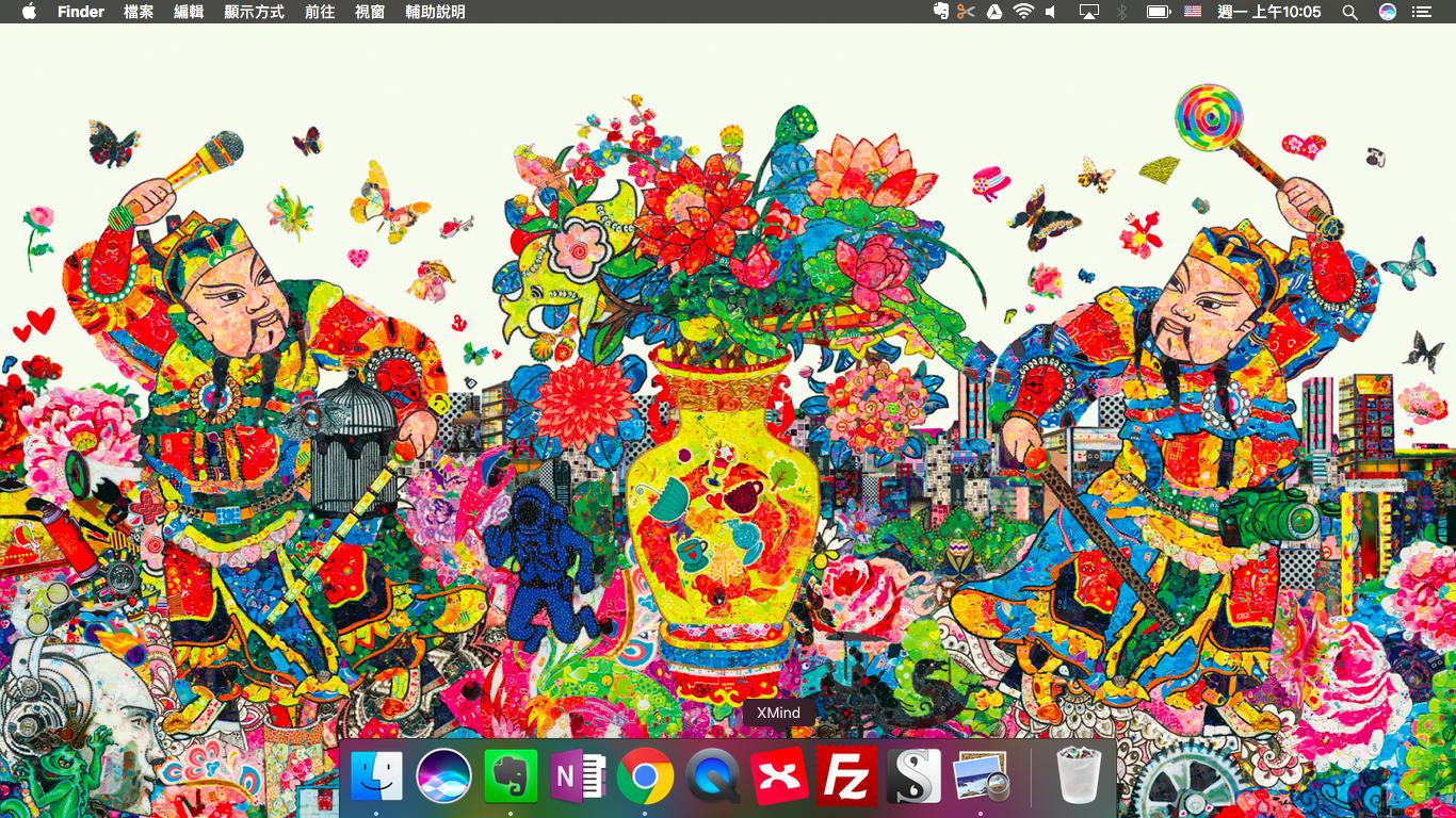 免費下載apple 獨家設計春節年畫桌布 農曆新年專用