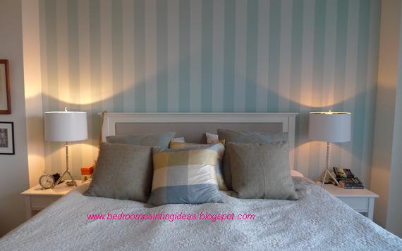 Bedroom Painting Ideas: Bedroom Painting Ideas Stripes
