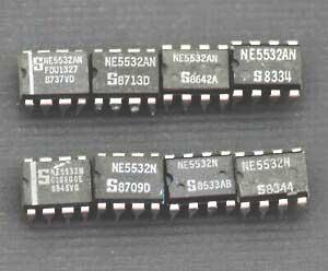 Op Amp IC NE5532  LM833 TL072 LF353 CA3140 CA3240 OPA2134 LM324 AD823 JRC4558 4558