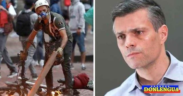 Leopoldo López muy preocupado por las protestas y la violencia en Colombia