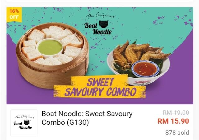 Sweet Savoury Combo RM15.90 Worth RM19