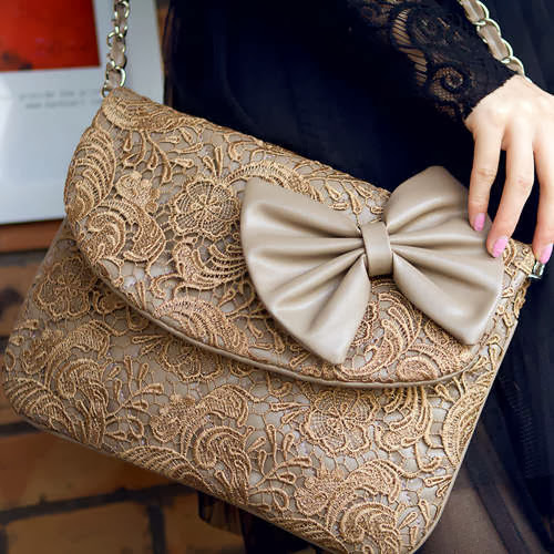 Hand Bag - Style Up Your Look with Lace : DIY Fashion
