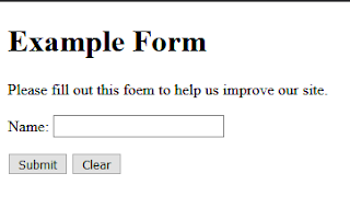Form HTML 5