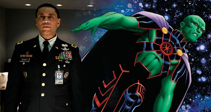 Zack Snyder confirma que el general Swanwick es Martian Manhunter