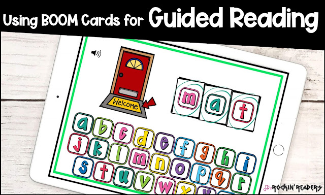 BOOM cards are a fun way to get your students engaged in your Guided Reading Lessons!  The cards can be completed in your small group before or after reading book.  This digital activity is perfect for kindergarten, first grade, or second grade teachers.