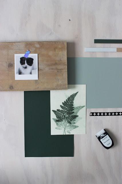 Flexa, Pure by Flexa ColorLab, Kleurentrends, FlexaNL, Verf, Make-over, Upcycling, Suave River, Drifting Cloud, Full River, DIY, Verfklus, Kleur, Muurkleur, Slaapkamer, Moodboard