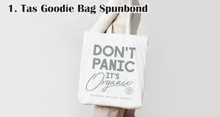 Tas Goodie Bag Spunbond cocok untuk dijadikan souvenir