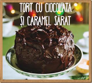 preparare retera tort deosebit cu ciocolata si caramel sarat