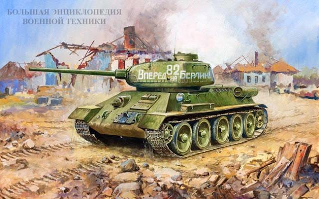 Средний танк Т-34-85 (объект 135)