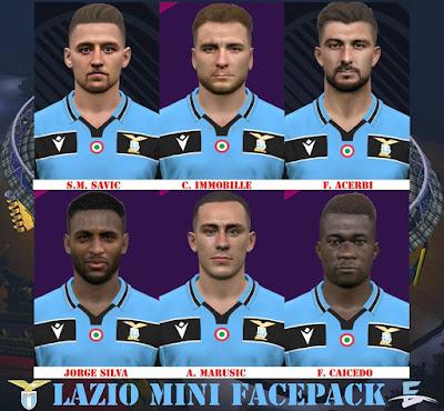 PES 2017 Mini Facepack SS Lazio by Eddie