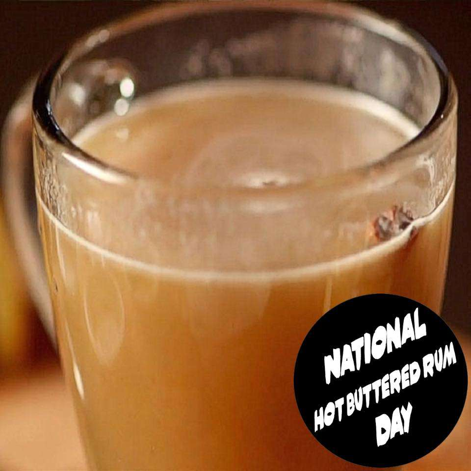 National Hot Buttered Rum Day Wishes Beautiful Image