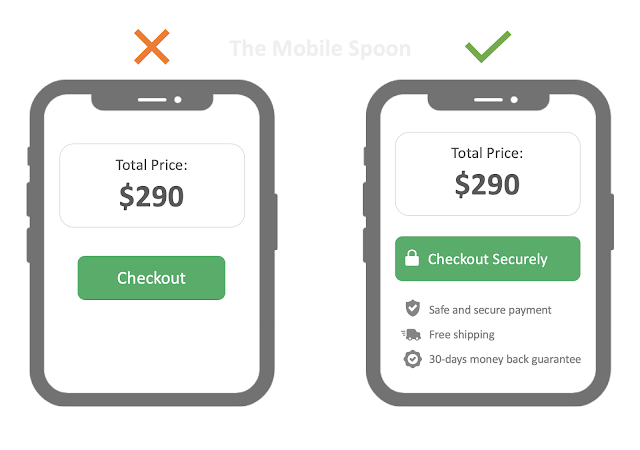 Make sure your users feel safe and secure. 10 lessons learned from asking our users to pay - the mobile spoon