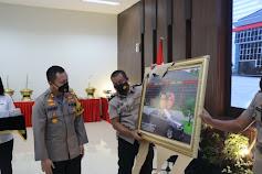 Kapolres Gresik AKBP Arief Fitrianto Memimpin Sertijab