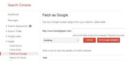 Cara Cepat Agar Artikel Terindeks Google Dengan Mudah