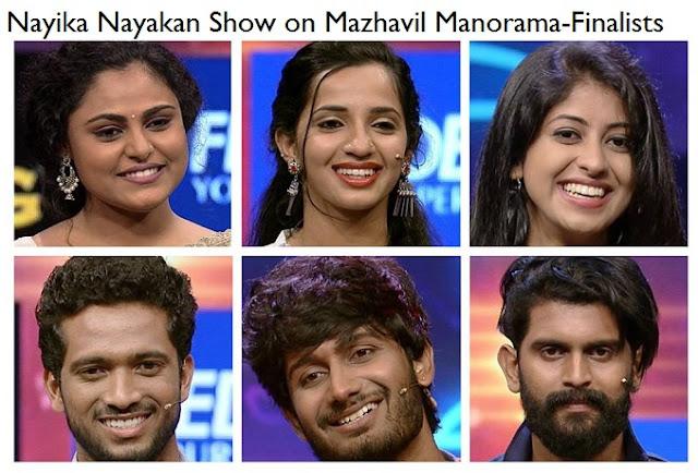 Finalists -Nayika Nayakan Grand Finale