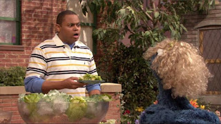 Sesame Street Episode 4305 Me Am What Me Am, chris, cookie monster
