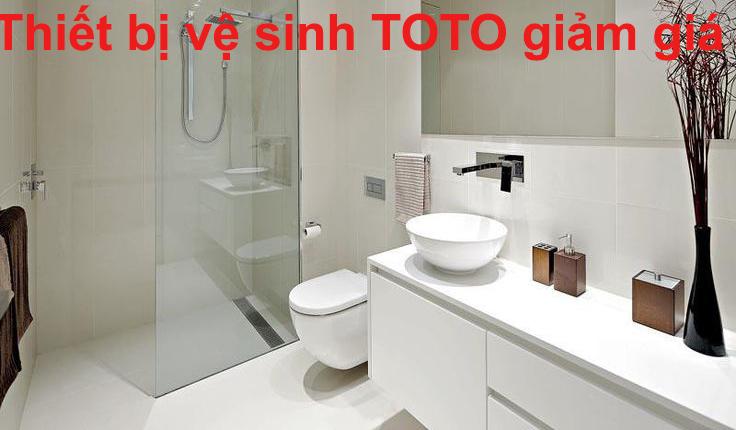 Thiết bị vệ sinh TOTO giảm giá