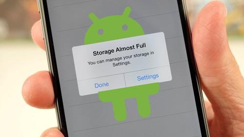 cara mengatasi memori full pada android