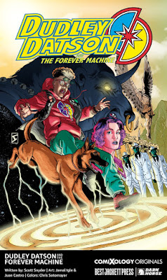 ComiXology and Scott Snyder's Best Jacket Forever Machine