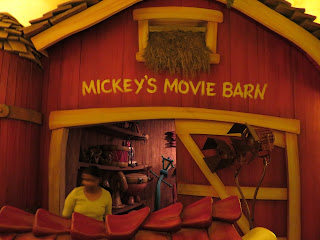 Mickey's movie barn Disneyland toontown