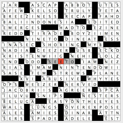Rex Parker Does The Nyt Crossword Puzzle West Coast Brew For Short Sun 12 8 19 Impossible Is Nothing Sloganeer Knights Titles In Game Of Thrones Buddy Holly Band 1994