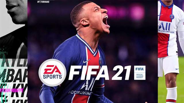 Kylian Mbappe Jadi Cover FIFA 21