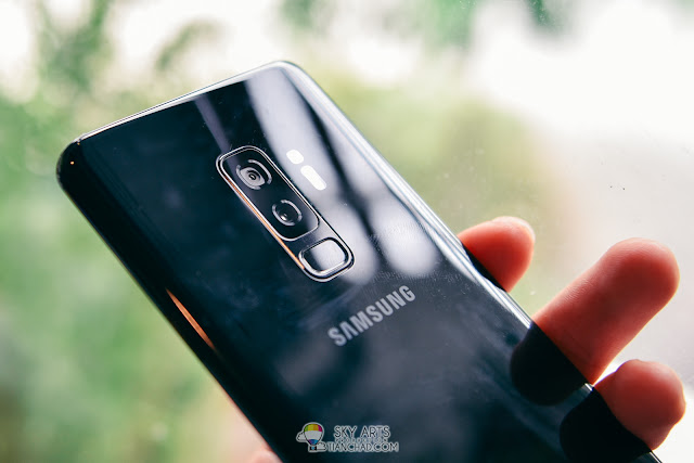 Samsung Galaxy S9+ camera with Dual Aperture Lens: F1.5 amd F2.4 Aperture Mode