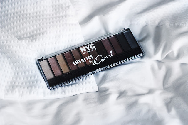 NYC Lovatics by Demi Eyeshadow Palette in Natural