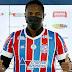 Atacante Hugo Rodallega é apresentado pelo Bahia