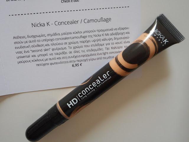 Nicka K- Concealer/Camouflage