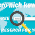 Free Micro  Nich Keyword for Blogger 2019-2020