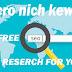 Free Micro  Nich Keyword for Blogger 2019-2020