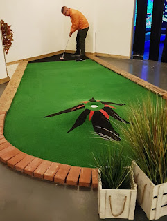 Crazy Golf at The Clubhouse Stoke in Newcastle-Under-Lyme