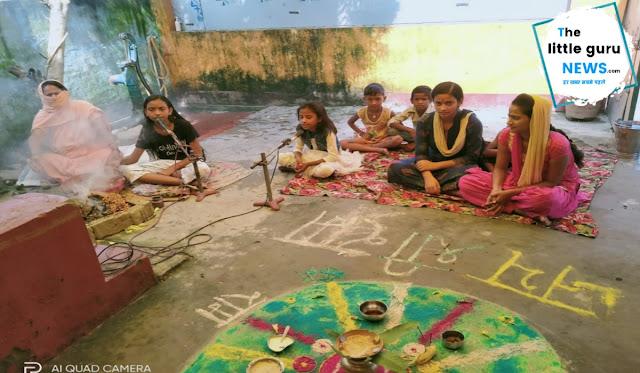 मीरपुर में 24 घण्टे के रामधुन का आयोजन
