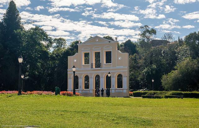 Portal Casa Mylla no Bosque Alemão (Memorial da Imigração Alemã)