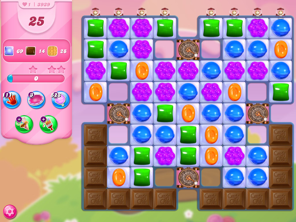 Candy Crush Saga level 3939