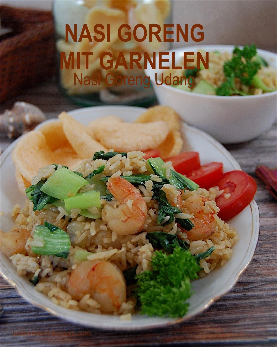 Rezept Indonesisches Nasi Goreng mit Garnelen