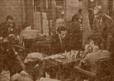 Última ronda del Torneo Internacional de Ajedrez Barcelona-1936