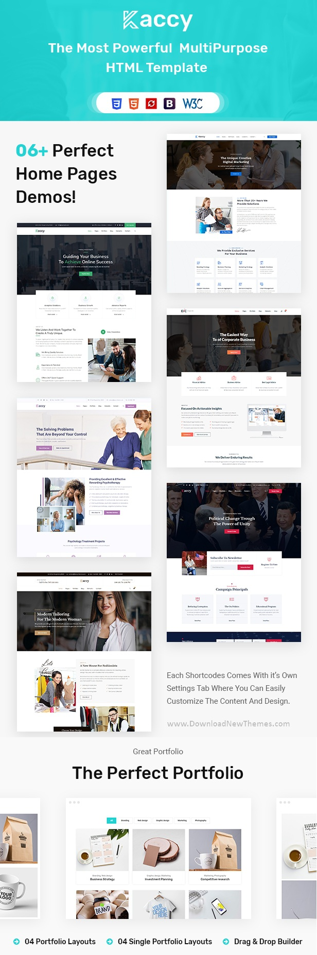 Services Business Multipurpose HTML Template